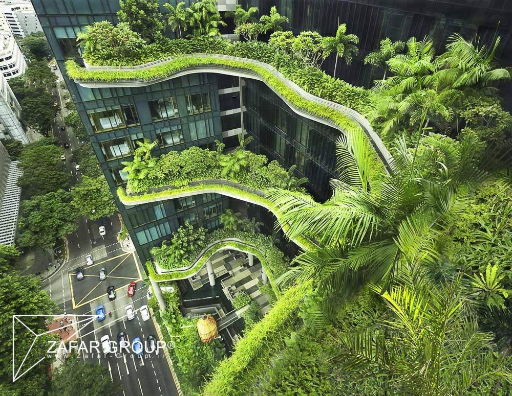 معماری سبز-ساختمان های سبز