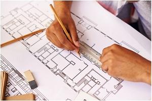 تهیه نقشه در اجرای ساختمان