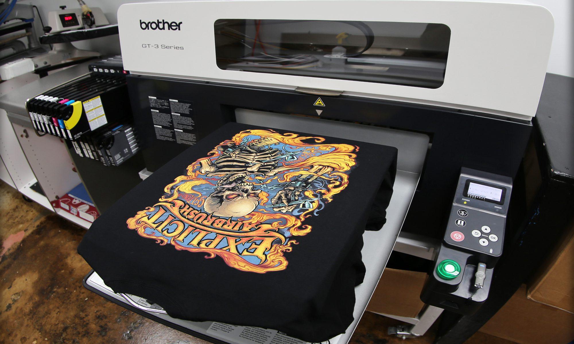 انواع چاپ مستقیم
