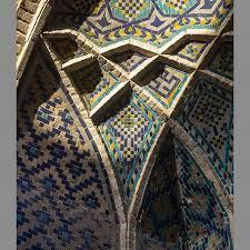 کاشی کاری مسجد حاج باقر