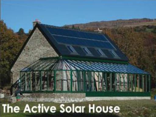 گرمایش خورشیدی ایستا