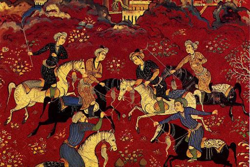 بررسی نگاره های مکتب شیراز
