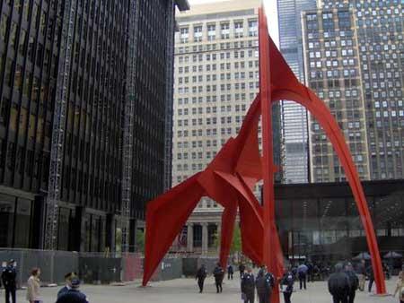 تحلیل فضای شهری - مرکز فدرال شیکاگو