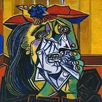 زن گریان اثر پابلو پیکاسو