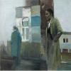 """نقاشی """"دو کارآگاه"""" اثر دانیل پیتین"""