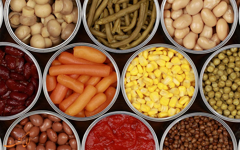 تکنولوژی کنسرو کردن مواد غذایی