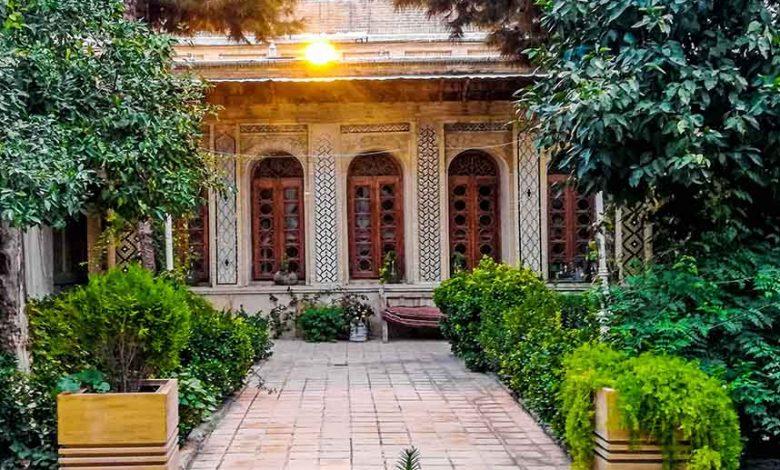 مرمت خانه فروغ الملک شیراز