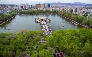 باغ ائیل گلی تبریز-آب در معماری-باغ آبی
