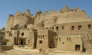 بناهای خشتی در مصر باستان