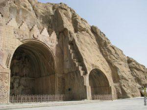 طاق بستان-معماری ساسانسان