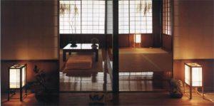فضاهای سیاه و سفید در معماری ژاپن