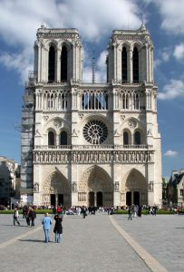 کلیسای نوتردام پاریس-گوتیک