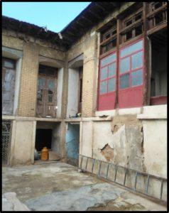 آسیب های وارده به خانه محمدی شیراز