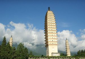 سه پاگودا معبد چانگ شنگ
