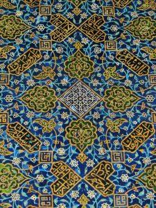 کاشی کاری مسجد کبود تبریز