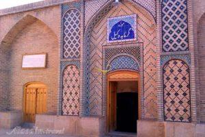ورودی حمام وکیل شیراز