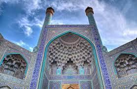 کاشی کاری-مسجد امام