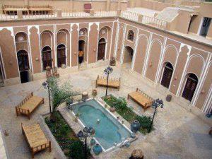 معماری ایرانی-گودال باغچه