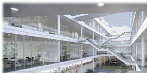 مرکز شرکت Trianel معماری در آلمان