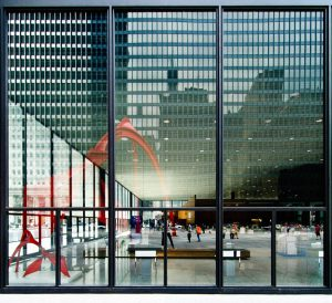 فضا و سازه مرکز فدرال شیکاگو