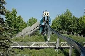 باغ اژدها - پارک دولاویلت پاریس