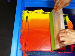 رنگها در چاپ سیلک