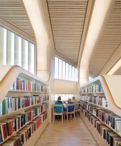 طراحی فضاهای کتابخانه عمومی