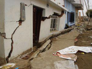 آسیب در ساختمان بنایی