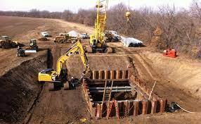 نحوه اجرای عملیات خاکبرداری و خاکریزی