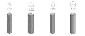 ستون برای ساخت ساختمان