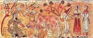 ویژگیهای مکتب شیراز در دوره آل اینجو (سبک اینجو) در نسخههای مذهب و مصور